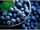 foods for hair growth - blueberries
