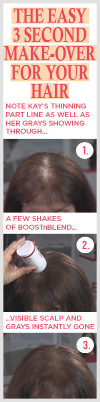 Treatment for hair loss in females over 50