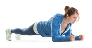 Planking to lose weight