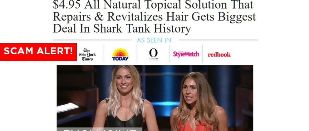 Follinique Keranique Shark Tank Scams
